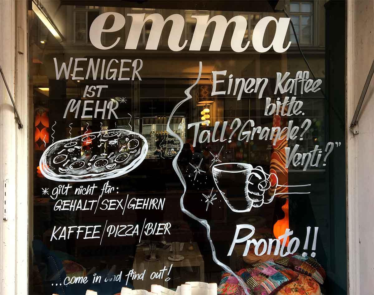 Это кафе понимает, что такое тизерная реклама
