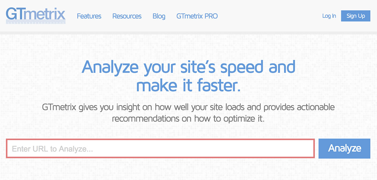 Скорость загрузки сайта - оптимизация с помощью GTmetrix